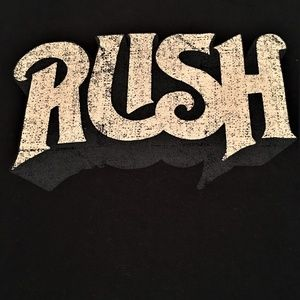 RUSH Tee Shirt XXL/XXG by M & O Knits